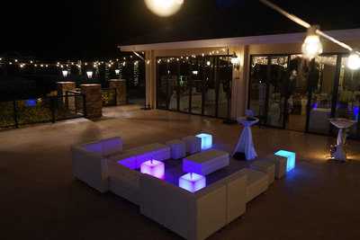 White Wedding Furniture Rentals, San Diego