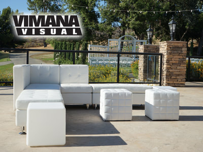 Wedding Lounge Furniture Rentals, San Diego