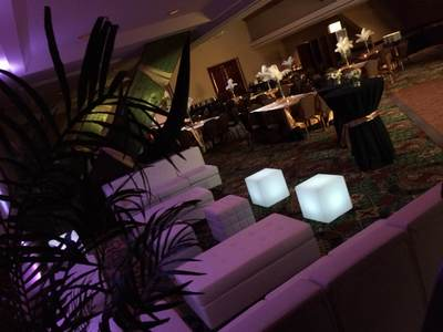 San Diego Wedding Reception Lounge Furniture Rentals